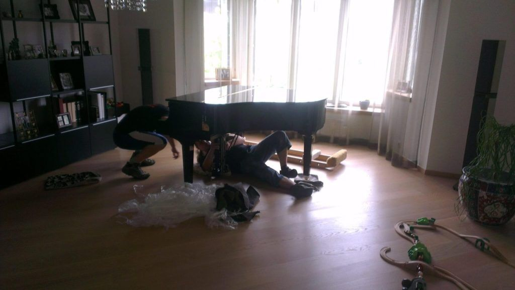 Kolivale pianistile tuleb appi klaveri transport