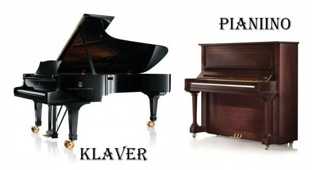 Pildiotsingu klaver vs pianiino tulemus